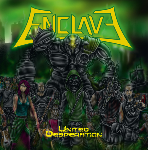 enclave - united desperation album cover