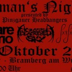 Hangman's Night 2.6 26.10.13 Rockbar, Bramberg am Wildkogel