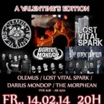 METAL HOMECOMING A VALENTINES EDITION 14.02.14 Spinnerei, Traun