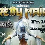 Pretty Maids, Axxis & Midriff 16.05.14 Rathaussaal, Telfs