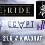 Free Ride, In This Chest, Ecapt, Beyond The Horizon, Paranoid Moshroom 21.06.14 Kwadrat, Klagenfurt