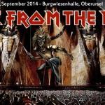Paul Di'Anno, Blaze Bayley, Maiden United, Thomas Zwijsen 27.09.14 Burgwiesenhalle, Oberursel