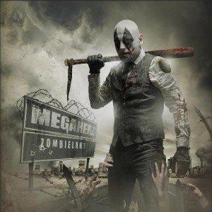 megaherz - zombieland album artwork, megaherz - zombieland album cover, megaherz - zombieland cover artwork, megaherz - zombieland cd cover