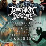 DAMNATION DEFACED Record Release Party 07.03.2015 CRI, Celle