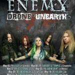 Arch Enemy, Drone, Silius Date 31.05.15 Komma, Wörgl