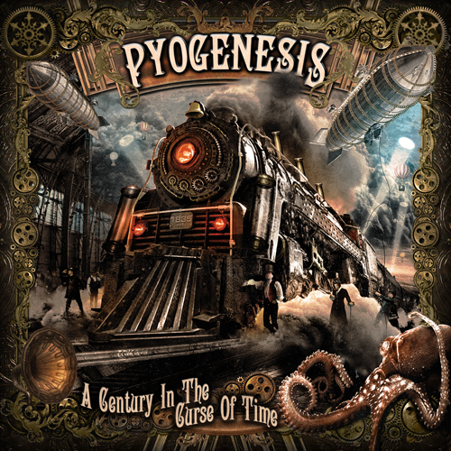 Pyogenesis - A Century In The Curse Of Time album artwork