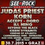 SEEROCK FESTIVAL 2015 30.07.15 Schwarzlsee, Graz