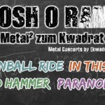 Cannonball Ride, In This Chest, Bäd Hammer, Paranomal 31.07.15 [kwadra:t], Klagenfurt