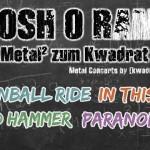 Cannonball Ride, In This Chest, Bäd Hammer, Paranomal 31.07.15 [kwadra:t], Klagenfurt