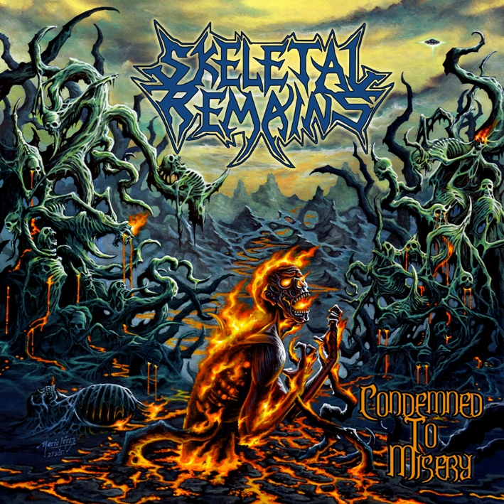 Skeletal Remains Condemned To Misery Metalunderground