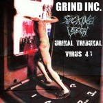 Grind Inc., Sucking Leech, Urinal Tribunal, Virus 41 15.08.15 Club Bogaloo, Pfarrkirchen