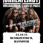 Ohrenfeindt, Double Crush Syndrome 24.10.15 Musikzentrum, Hannover