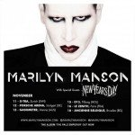 Marilyn Manson, New Years Day 13.11.15 Bank Austria Halle Gasometer, Wien