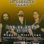 ANKH AMUN Record-Release Party 06.11.15 Rockcafe Halford, Berlin