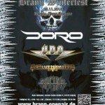 Brann Winterfest 28.11. 2015 mit Elvenpath, Archer. U.D.O. und Doro