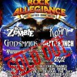 Monster Energy Rock Allegiance 10.10.2015 PPL Park, Chester PA