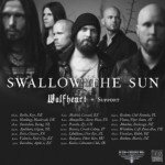 Swallow The Sun, Wolfheart, Adimiron 05.12.2015 Sala Apolo, Barcelona