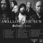 Swallow The Sun, Wolfheart, Adimiron 05.12.2015 Sala Apolo, Barcelona