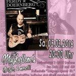 Ferdy Doernberg 05.03.16 Cafe Maybellenes, Garbsen-Hannover