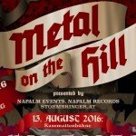 Metal On The Hill Festival Graz 2016 – Tag 2, Schlossberg, Kasemattenbühne,