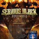 MIRRORWORLD TOUR – SERIOUS BLACK, SINBREED, HAMMERSCHMITT 23.09.16 EXPLOSIV, GRAZ