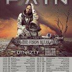 PAIN, The Vision Bleak – Backstage München, 20. 10. 2016