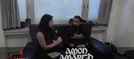 Amon Amarth Band Interview Jocke Wallgren