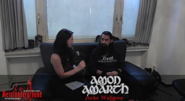 Amon Amarth Band Interview Jocke Wallgren