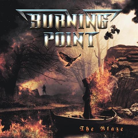 Burning Point - The Blaze Album Artwork