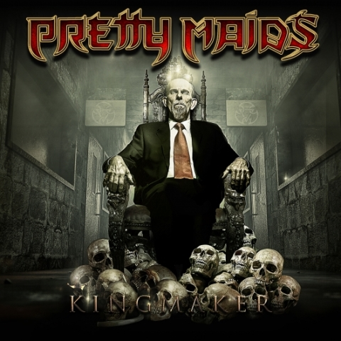 Pretty Maids - Kingmaker Cover, Pretty Maids - Kingmaker Album Artwork, Frontiers Music SRL, Pretty Maids Cover
