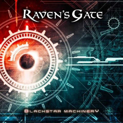 Ravens Gate - Blackstar Machinery Cover Artwork