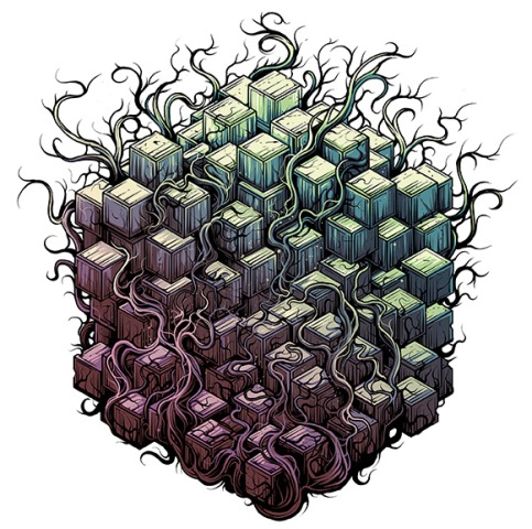TESSERACT - Polaris - Errai Album Artwork