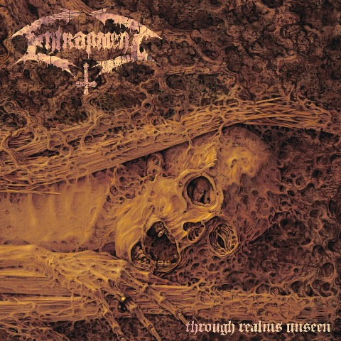 entrapment - through realms unseen album artwork