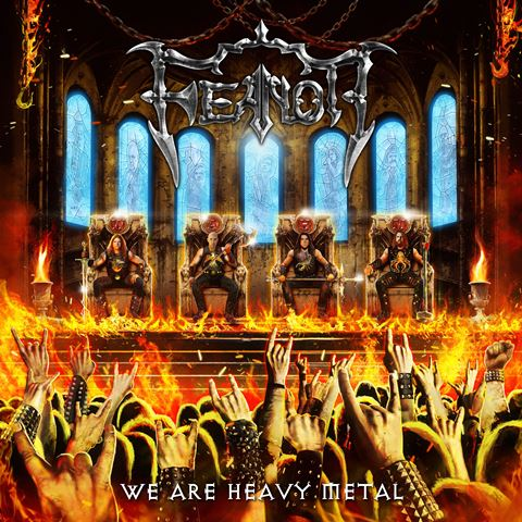 feanor - we are heavy metal album cover