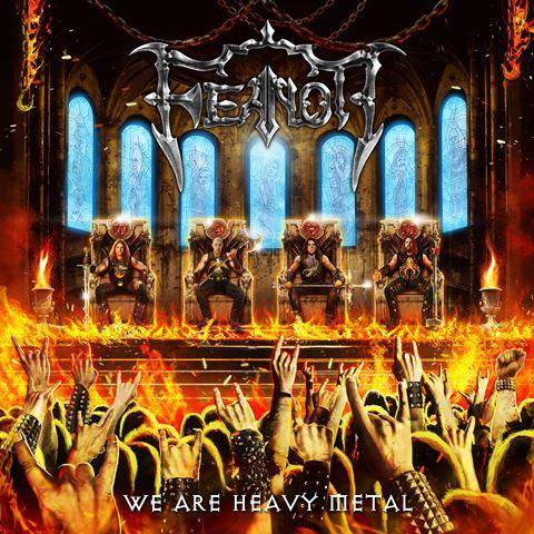 feanor - we are heavy metal album cover