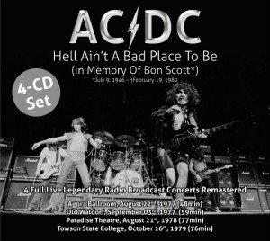ACDC - Hell Aint A Bad Place To Be album cover