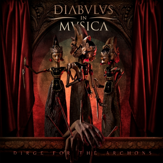 Diabulus in Musica - dirge for the archons album artwork