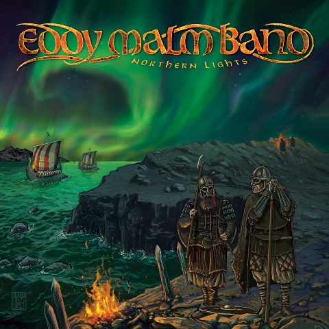 EDDY MALM BAND - Northern Lights album artwork