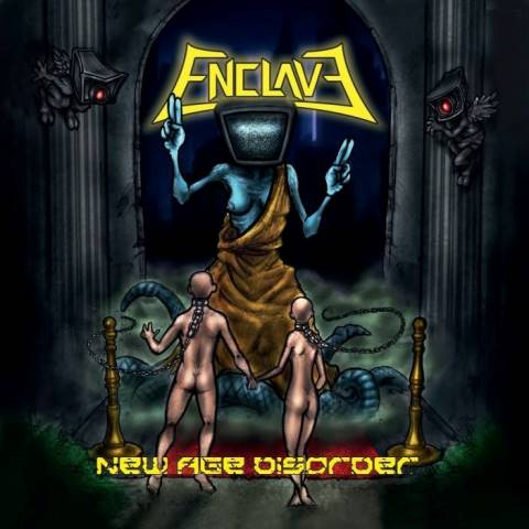 ENCLAVE - New Age Disorder album artwork