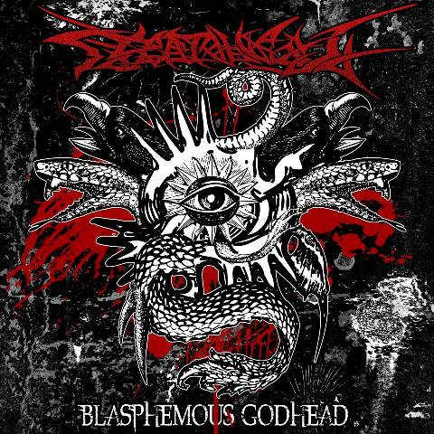 ESCATOLOGY - Blasphemous Godhead album cover