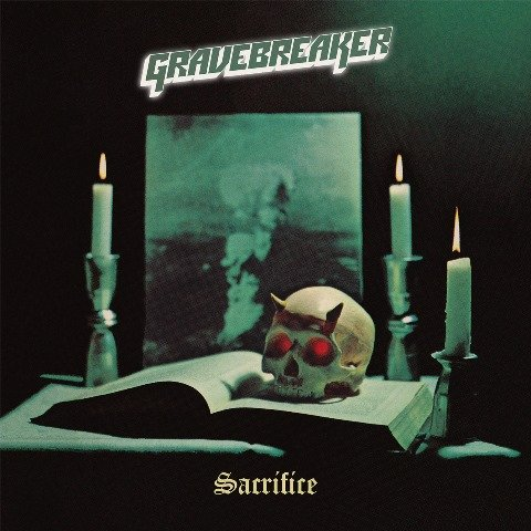 Gravebreaker - sacrifice album artwork