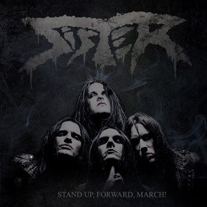 Sister - Stand Up Forward March album artwork