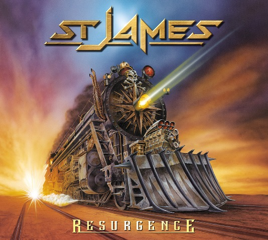 St James - Resurgence album artwork