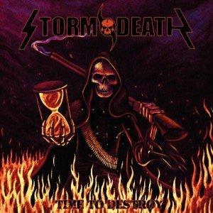 Stormdeath - Time to Destroy album artwork