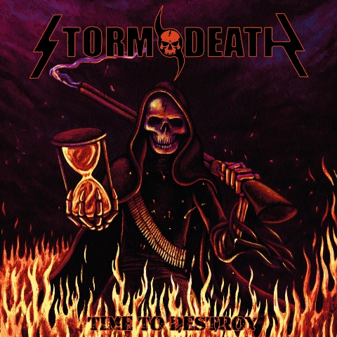Stormdeath - Time to Destroy album artwork