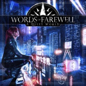 WORDS OF FAREWELL - A Quiet World album artwork