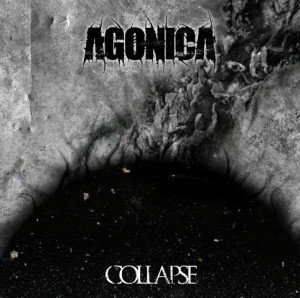 agonica - collapse album artwork