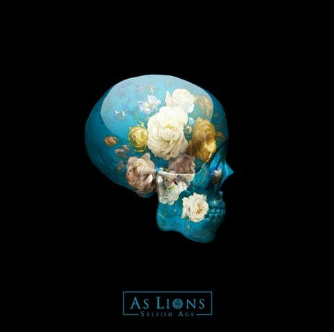 AS LIONS - Selfish Age album artwork, AS LIONS - Selfish Age album cover, AS LIONS - Selfish Age cover artwork, AS LIONS - Selfish Age cd cover