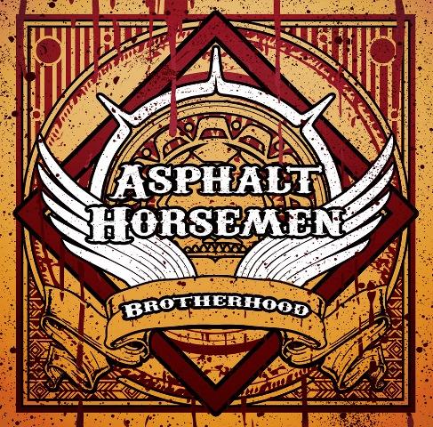Asphalt Horsemen - Brotherhood album artwork, Asphalt Horsemen - Brotherhood album cover, Asphalt Horsemen - Brotherhood cover artwork, Asphalt Horsemen - Brotherhood cd cover