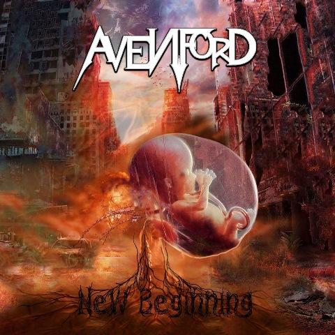 Avenford – New Beginning album artwork, Avenford – New Beginning album cover, Avenford – New Beginning cover artwork, Avenford – New Beginning cd cover